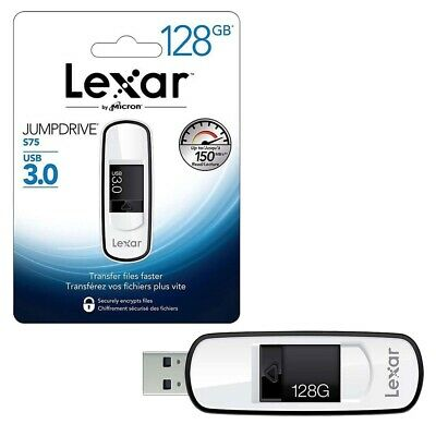 128GB Lexar Professional JumpDrive S75 USB 3.0 150MB/s USB 3.0 Flash Drive 128GB
