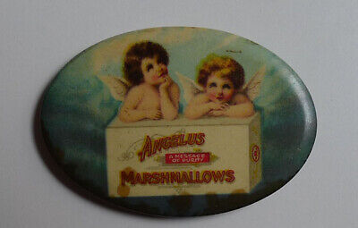 1900's Angelus Marshmallows / Cracker Jack pin