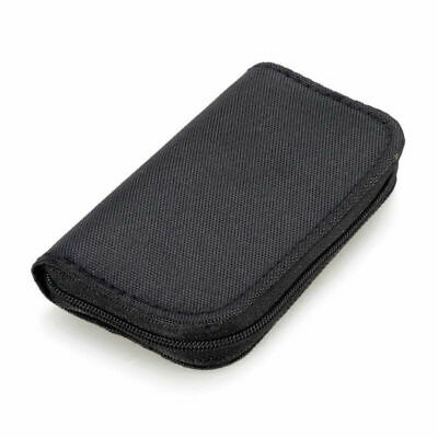22 Slots Memory Card Case Waterproof SD Card Holder for Micro SDHC SDXC TF Black