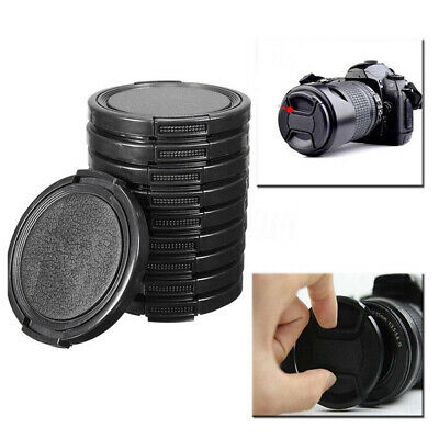 Lens Caps Protective Camera Dust Proof 10pcs 49mm Front DSLR Cover Body Mount