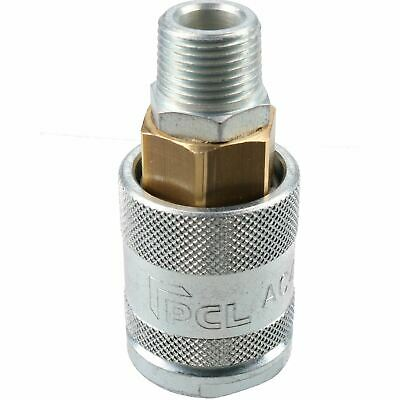 "PCL 60 Series Female Coupler Air Fitting Air Hose 3/8"" BSP Male Thread AC4EM"