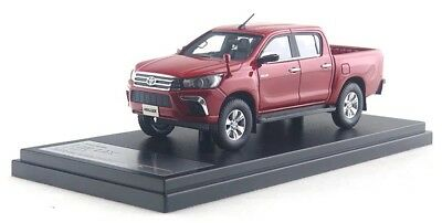 1/43 Hi-story GICO Toyota HILUX Z 2017 Red #HS204RE