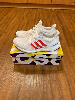 5006eb21d4a DB3199) ADIDAS MENS Ultraboost Red white  new  100% Authentic ...