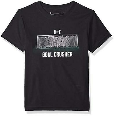 Under Armour Toddler Boys Black Goal Crusher Dry Fit Top Size 2T $18