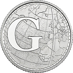 A-Z (2019) ALPHABET 10p - LETTER (G) FOR GREENWICH MEANTIME   UNCIRCULATED