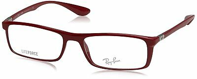 f791ae9578 New Authentic RAY-BAN LITEFORCE RX7035 5435 Red 54 17 145 Rx Eyeglasses