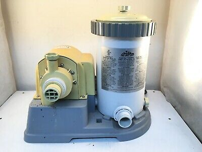 Intex Krystal Clear Filter Pump, Model 633, UNTESTED SOLD AS IS