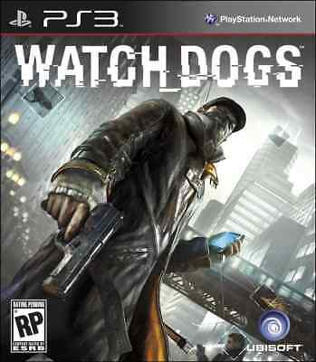 PS3 Watch Dogs (Sony PlayStation 3, 2014) [VGC]