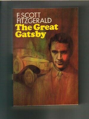 The Great Gatsby by F. Scott Fitzgerald RARE Paperback PERFECT CONDITION