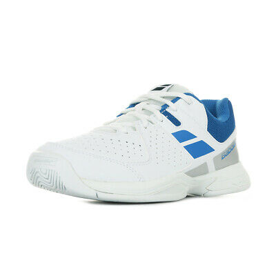 Chaussures Babolat unisexe Pulsion All Court Jr Tennis taille Blanc Blanche