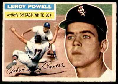 1956 Topps Leroy Powell Rookie #144