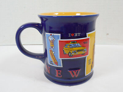 2004 I Love New York City Souvenir Ceramic Coffee Tea Mug Cup Decor Travel Nyc