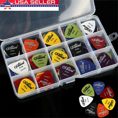 100pc Guitar Pick Classical Folk Acoustic Pick Musical Instrument Accessories US