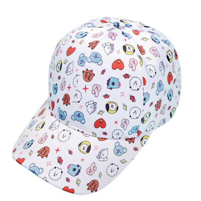 Kpop BTS Baseball Cap Unisex Outdoor Sports Snapback Cap Adjustable Casual Hat