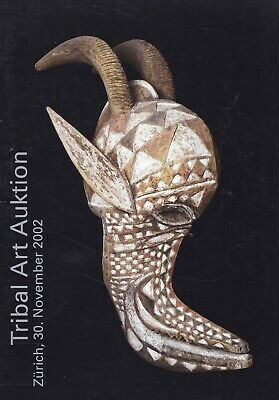 TRIBAL ART AUKTION: Katalog Zürich 2002