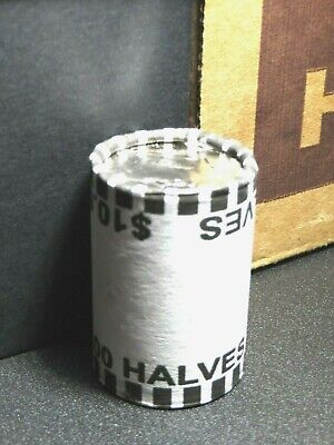 UNOPENED Half Dollar ROLL-MINT SEALED-Possible Silver Kennedy Franklin-20 COINS
