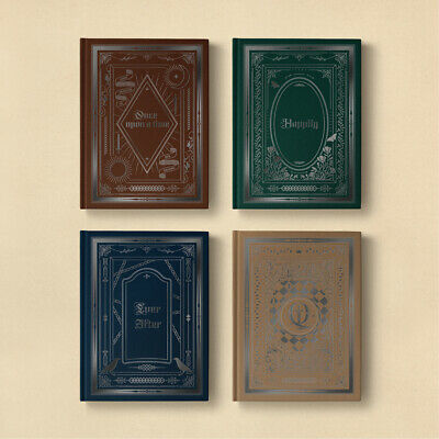 NUEST NU'EST - Happily Ever After [4 versions SET] 4CD+4Poster+Gift+Tracking no