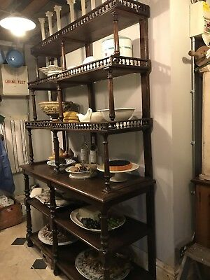 Antique French Patisserie Shelves