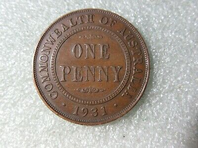 1931  PENNY    1 scarcer COIN (lot 2)