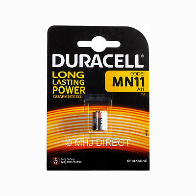 1 x Duracell 11A MN11 A11 CX21A L1016 E11A 6v Alkaline Battery Use By Date 2023