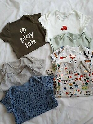 Boys 18-24 months Mamas And Papas Short Sleeved Vest bundle nwt