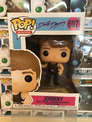 JOHNNY #697 Funko Pop! DIRTY DANCING FILM FIGURE - PATRICK SWAYZE - BRAND NEW