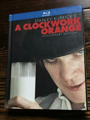 A Clockwork Orange (Two-Disc Anniversary Edition Blu-ray Book Packaging) - Sta..