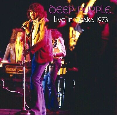 DEEP PURPLE Live In Osaka 29th June 1973 LP 2nd night GILLAN RARE UK mint VINYL
