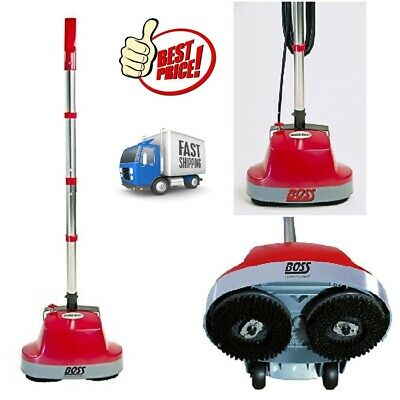 Mini Floor Scrubber Machine Buffers Hardwood Tile Carpet Marble Cleaner Polisher