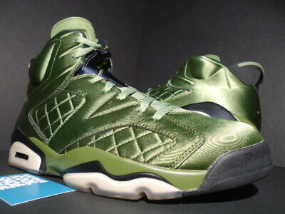 f9831b0cd72 Nike Air Jordan Vi 6 Retro Pinnacle Satin Flight Jacket Palm Green  Ah4614-303 12