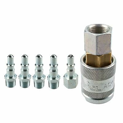 "PCL 60 Series Female Coupler 3/8"" BSP Female Thread & Air Male Fitting Adaptors"