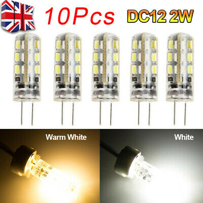 10Pcs G4 LED Bulbs Capsule Replace Halogen Bulb Light Bulb Lamps DC 12V
