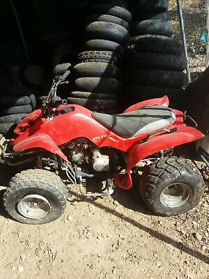 quad hytrack atv 110 en panne