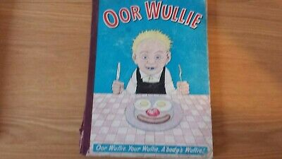 OOR WULLIE 1960. used CONDITION. RARE.