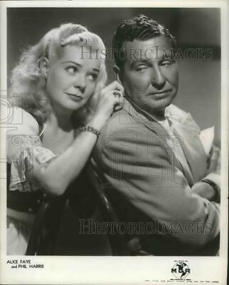 1950 Press Alice Faye with Phil Harris - mjx39124