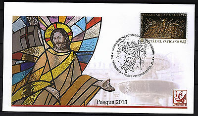 Vatikan 2013 FDC Nr.1757 Ostern - First Day Cover Vaticano