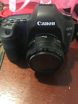 Canon EOS 7D Mark II (9128B002) 20.2MP Digital SLR Camera - Black Plus 50mm lens