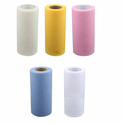 Wedding Party  Banquet Stage Costume DIY Tutu Craft Glitter Tulle Spool 25 Yards