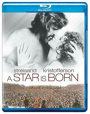 A Star is Born [Blu-ray Movie Region A Streisand Kristofferson Busey 1976] NEW
