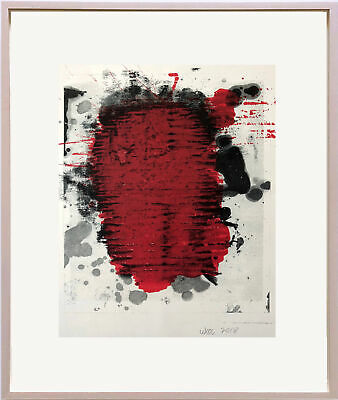 Christopher Wool Framed 2018 color lithograph