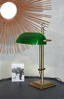 Bankers Lamp Desk Lamp Art Nouveau Bankers Lamp Belle Epoque Table Desk Lamp