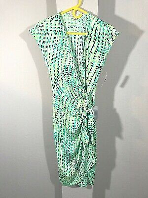 42e6a97c4fe MAGGY LONDON WOMEN S Green wrap dress