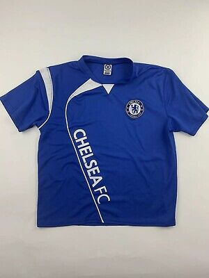 7339b8268 MENS LARGE CHELSEA FC Heritage Polo Shirt Football Adults Top T ...