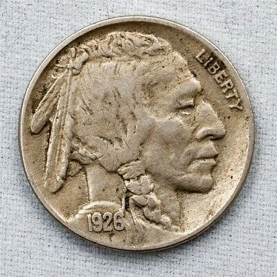 1926 Buffalo Nickel - Extremely Fine - 5c Copper-Nickel