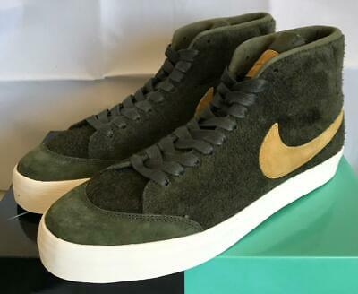 """check out 50bcf d4eaa NIKE SB ZOOM Blazer Mid Qs """"We Club 58"""" Sequoia/Gold Ah6158 369 - Size 9"""