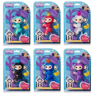 Electronic Finger Baby Monkey Cute Pet Toys Kids Interactive Fingertip Robot Toy
