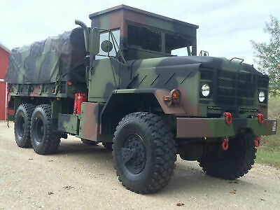 M923A2 5-Ton Military Truck ROPS