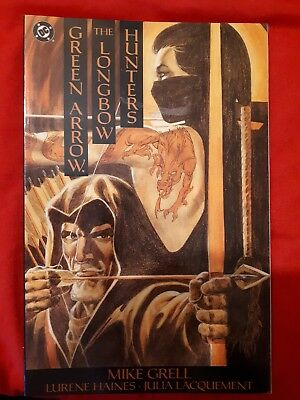 Dc Green Arrow The Longbow Hunters (M. Grell) 1987 S/c Graphic Novel
