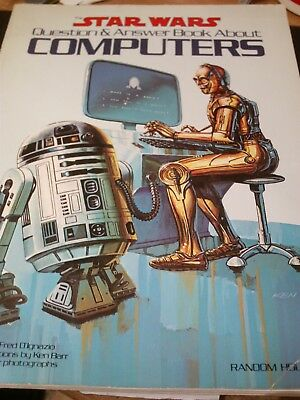 The Star Wars Question & Answer Book about Computers 1983 Ultra Rare