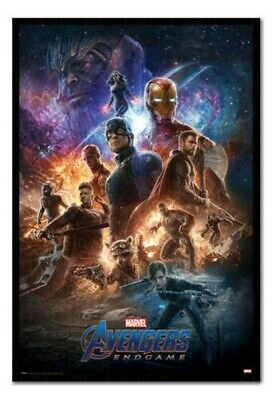Encadré Avengers Endgame From The Ashes Affiche